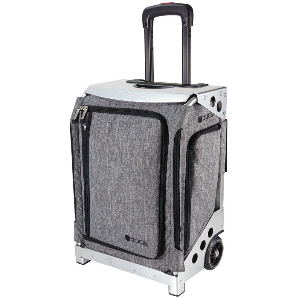 ZUCA Artist Navigator Travel Grey Insert Bag & Frame (Silver)
