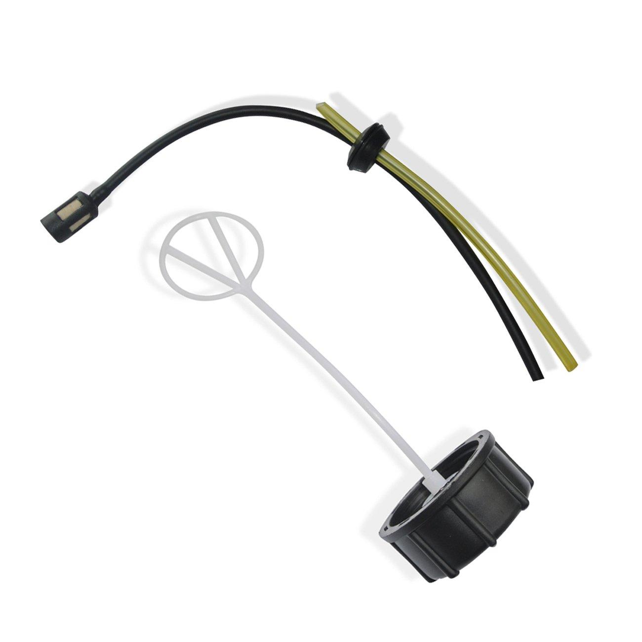 JRL Tapa de Tanque de Combustible para Honda GX22 GX25 GX31 GX35 ...