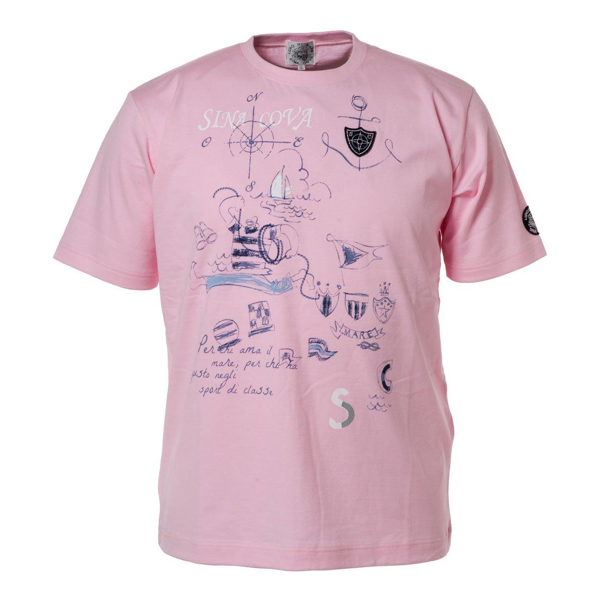 (シナコバ) SINA COVA Tシャツ B07CGYHYKK LL|パウダーピンク パウダーピンク LL
