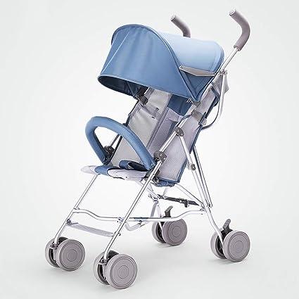 GZF Cochecito de Bebé de Confort Cochecitos de bebé, carros plegables ligeros, carros para