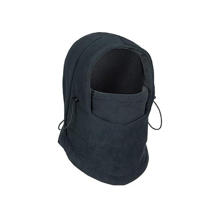 Deggodech Balaclava Maschera Invernale Passamontagna Pile Cappello Thermal Fleece Face Mask per Unisex Sport Esterni Inverno