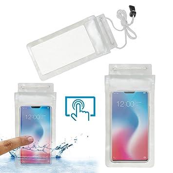info for 116e9 e372f Acm Waterproof Bag Case for Vivo V9 Youth Mobile (Rain,Dust,Snow & Water  Resistant) Transparent