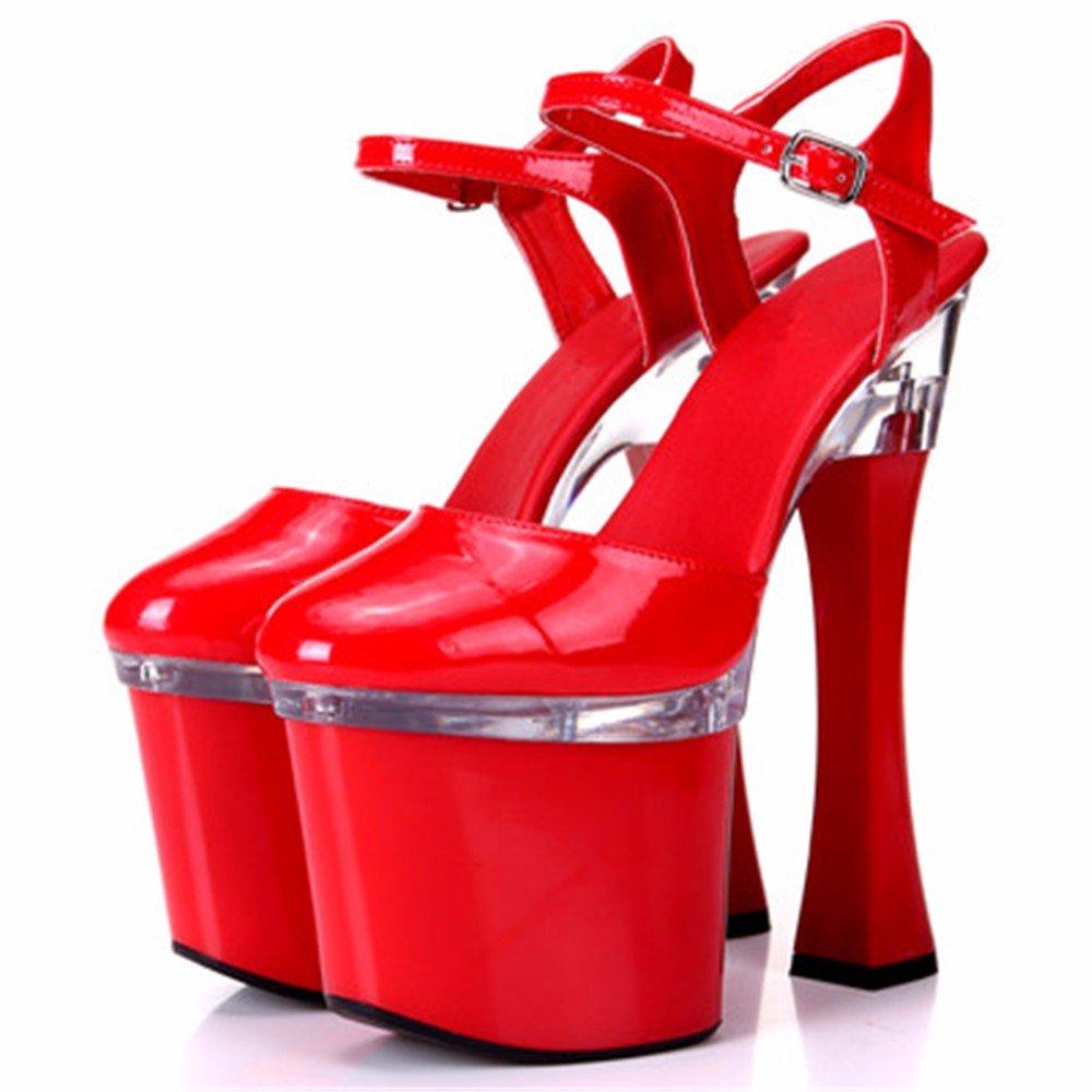 FLYRCX Frühling und Sommer Europäische sexy High High High Heels Persönlichkeit einfach Mode leder schuhe schuhe. B07BDK6WNK Tanzschuhe eine breite Palette von Produkten 86007e