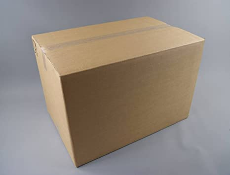 5 x doble pared cartón casa cajas de cartón embalaje XXL, 60 x 41 x
