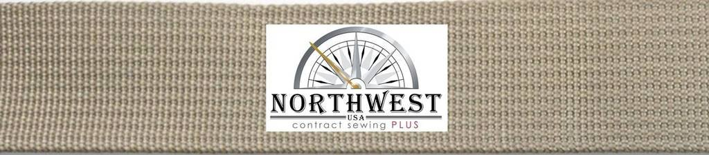The Northwest Company 17337 Nylon Backpack Webbing Available in 4 Widths, 6 lot sizes, 29 colors. (1'' MIL W 17337 499 Coyote Tan, 1 yard) by The Northwest Company