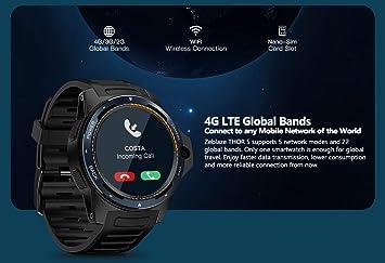 LOSNK Reloj Inteligente GPS con Aplicaciones Deportivas ...