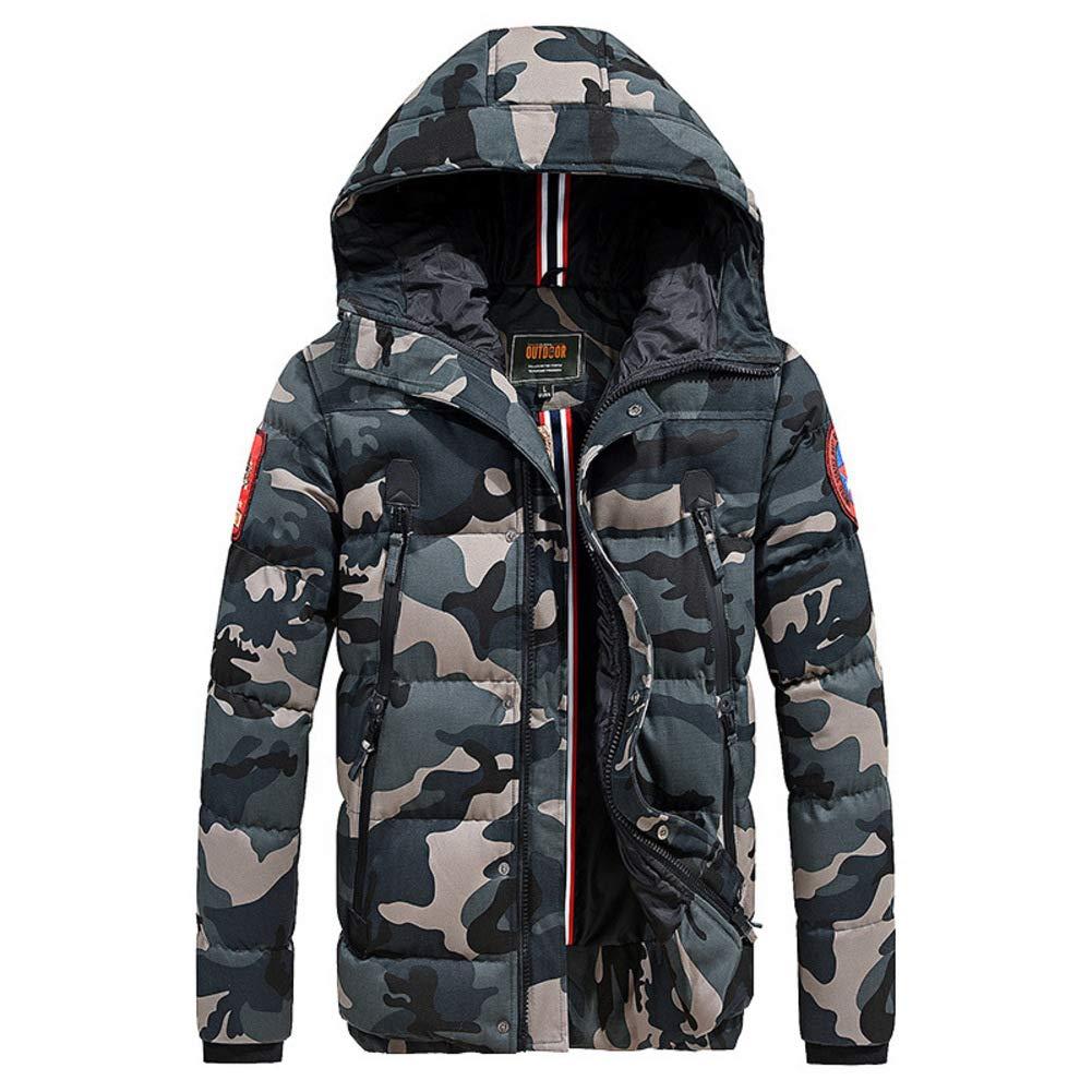 Herren Lightweight Nach Unten Baumwolle Oberbekleidung Winter Halten Sie Warm Windproof Jacke Für Berg Ski