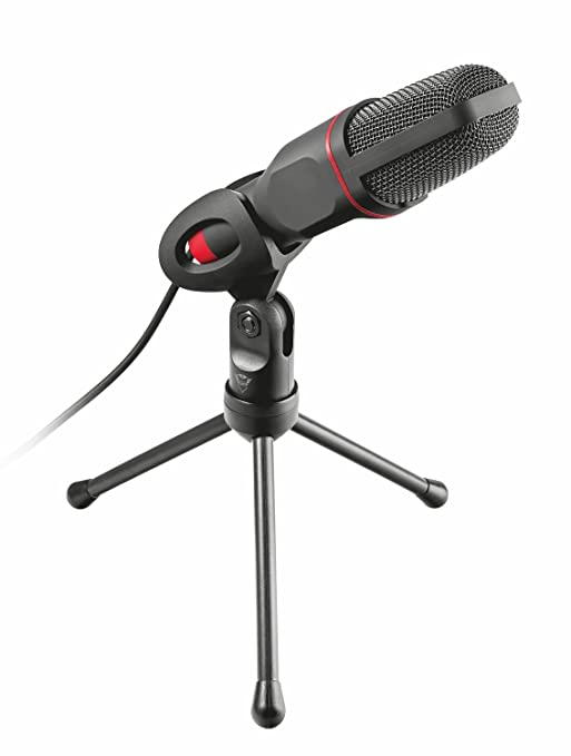 9 opinioni per Trust GXT 212 Mico Microfono Gaming con Connessione 3.5 mm e USB, Nero