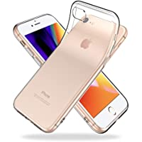 Youriad iPhone 8 / 7 ケース カバー | 透明 クリア ソフト | 特徴 軽量 インチ 薄型 ストラップ 滑り止め ワイヤレス充電対応 落下防止 TPU(iPhone8 iPhone7 専用)