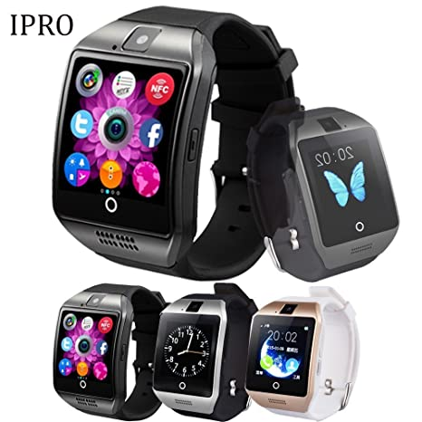 iPro inalámbrico Bluetooth Android SmartWatch, Q18 2 m ...