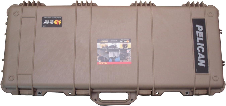 Pelican 1700 Case with Foam Desert Tan