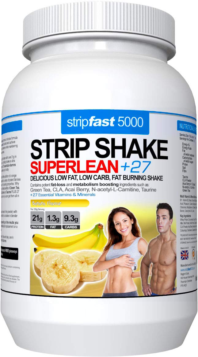 Diet Whey Protein Powder Shakes Weight Loss Support For Men Women With Diet Plan Recipe Book Banana Blast 907g