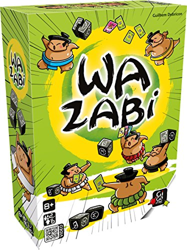 Gigamic Sarl Wazabi (U.S. Version) Board Games