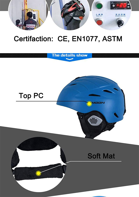 A&BERR Ankunft Erwachsene Und Kinder Kinder Kinder Ski Helm Ski Snowboard Helm Schneehelm Pc + Eps Material B07LGLW3C4 Skihelme Verrückter Preis 6638f1