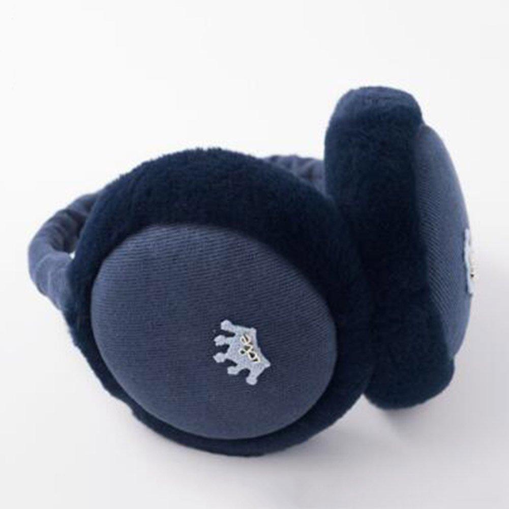 XUERUI Ohrenschützer Pflanze Baumwolle halten warme Winter verwenden 5 Farben Mädchen zusammenklappbar ( Farbe : Beige )