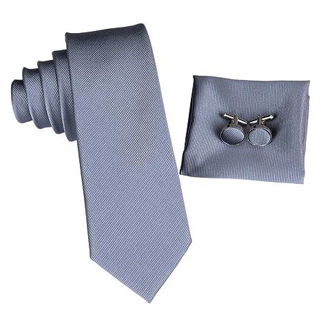 KYDCB Tie 5.5Cm Corbatas de Seda Delgadas Conjunto Corbata para ...