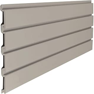 product image for Slat Wall 12x48 Inch Section, Light Taupe