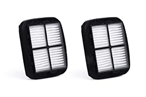 Green Label 2 Pack for Bissell Pet Hair Eraser, CleanView Deluxe, Auto-Mate Hand-Vacs HEPA Filter (compares to 97D5, 2037416, 2031432). Fits: 47R5, 35V4, 33A1 Series & 27K6, 37U6E