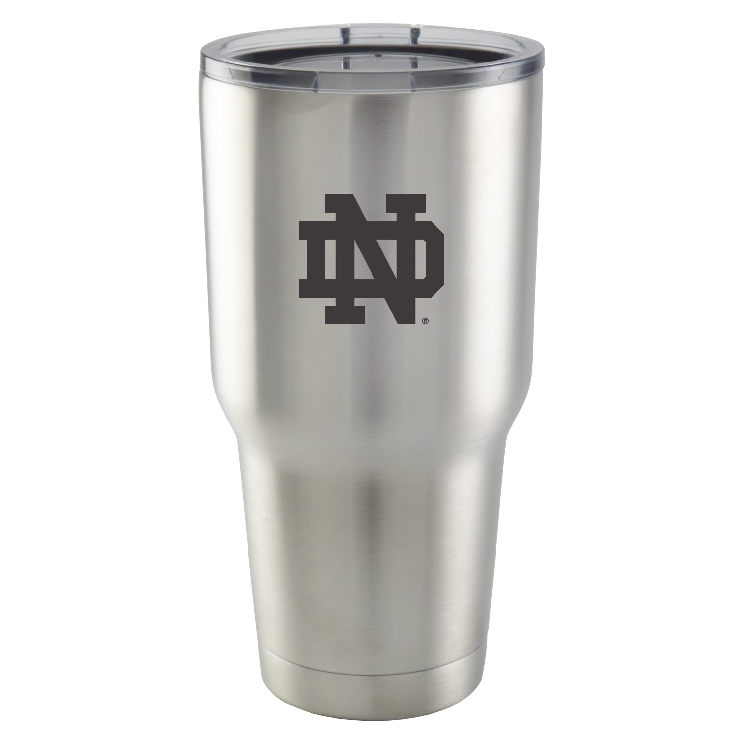 University of Notre Dame|30 oz Vacuum Insulated Stainless Steel Tumbler with Acrylic Lid|BPA Free|Collegiate Licensed NCAA Product|