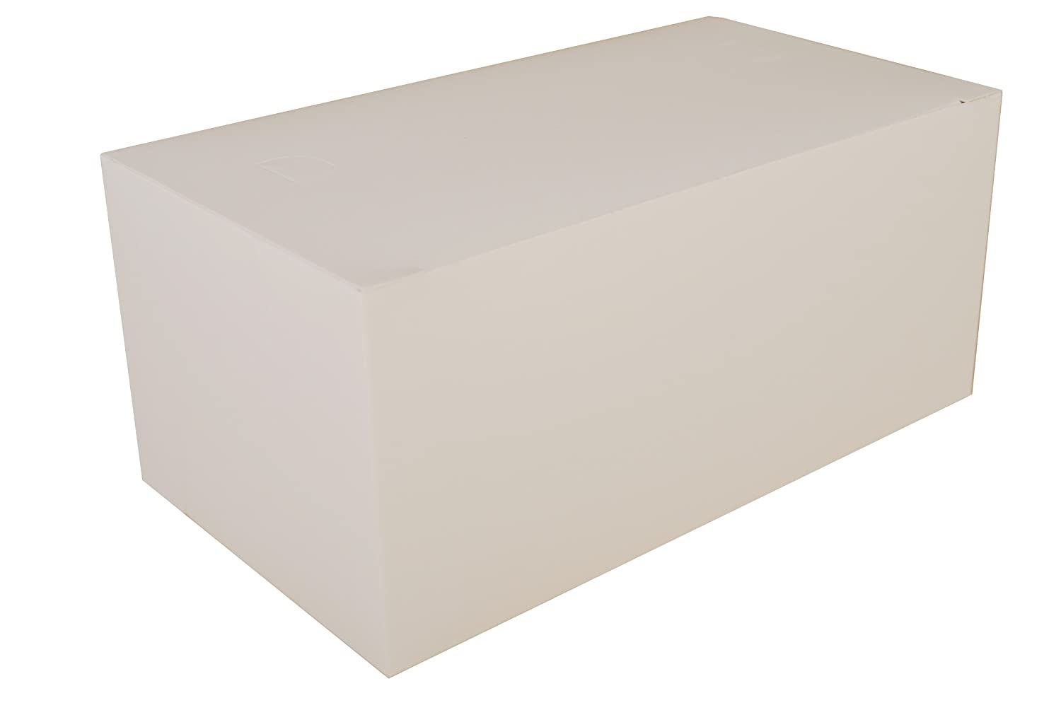 Southern Champion Tray 2757 Paperboard White Dinner Carry-Out Box, Tuck Top, 9