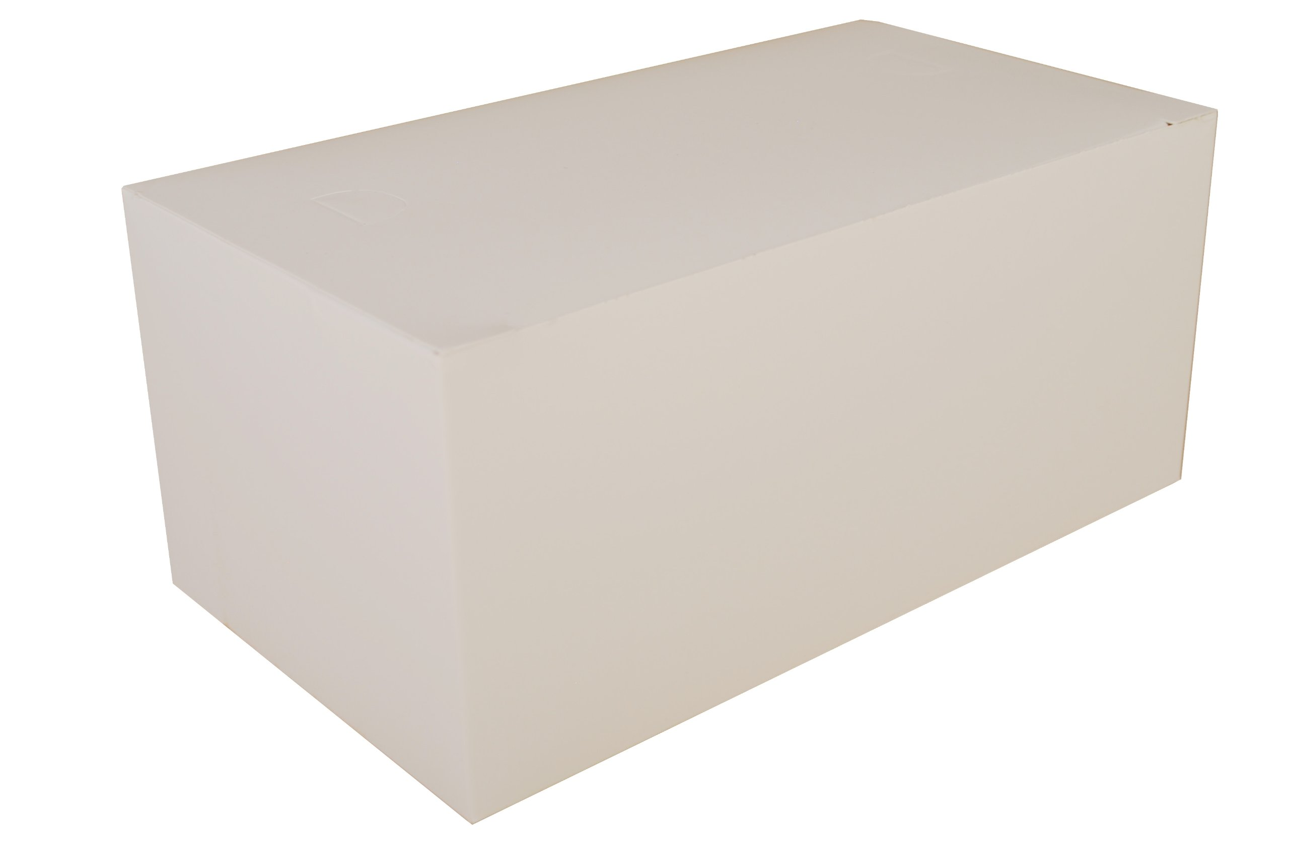 Southern Champion Tray 2757 Paperboard White Dinner Carry-Out Box, Tuck Top, 9'' Length x 5'' Width x 4'' Height (Case of 250)