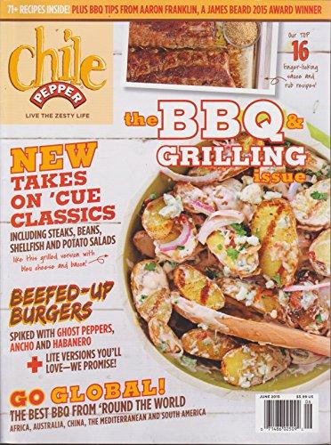 Chile Pepper Magazine June 2015