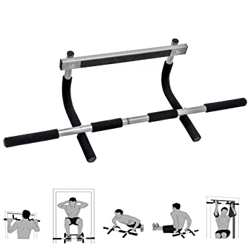 Attirant Tunturi Multi Functional Pull Up Bar   21.4 Stone User Capacity | No  Fitting Required