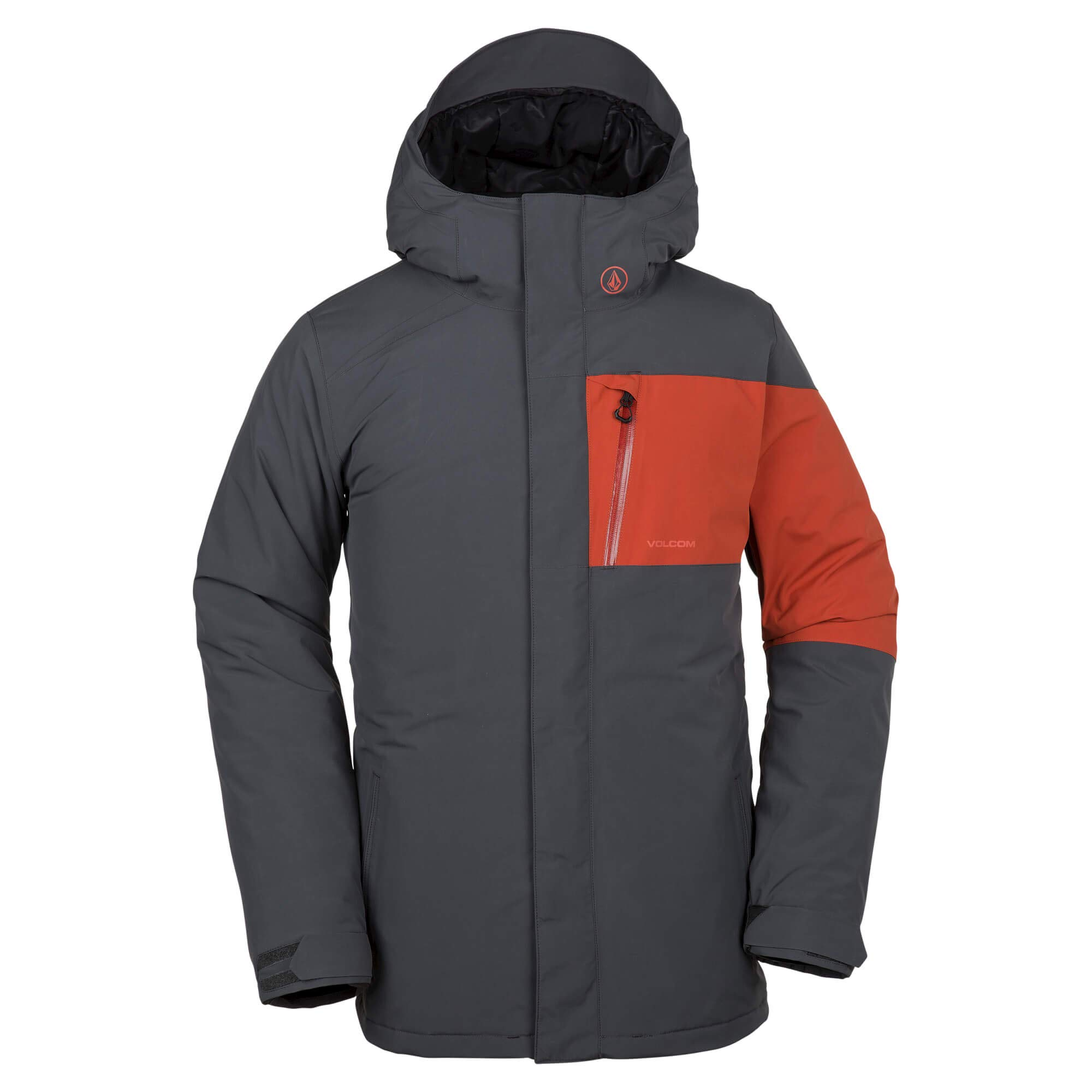 Volcom Men's L Gore-Tex 2 Layer Laminate Snow Jacket, Vintage Black Large