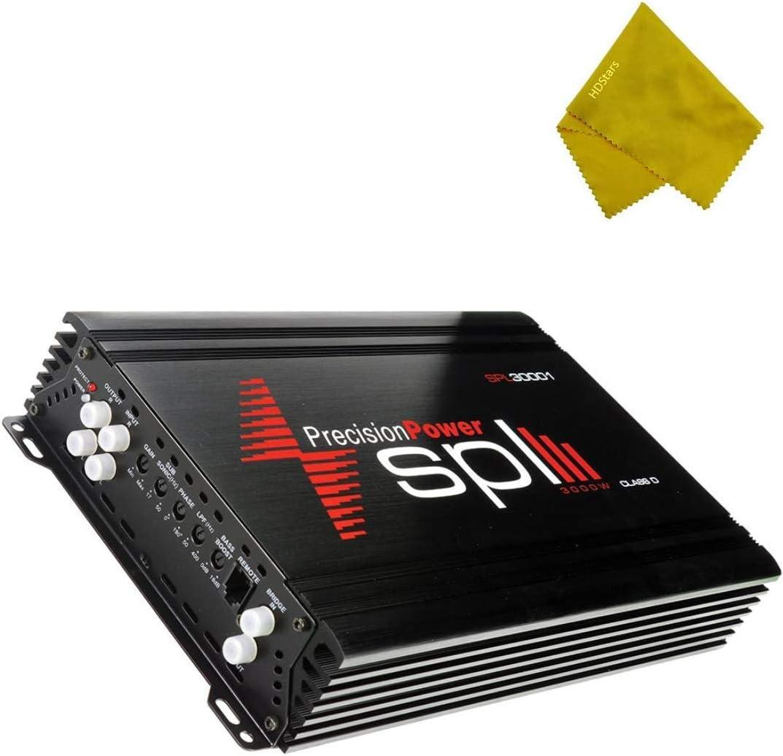 Precision Power Class D Mono Amplifier 3000W 30000 Watts Monoblock Class D Subwoofer Amplifier