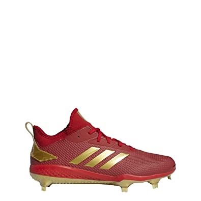 cec67456105 adidas Adizero Afterburner V Cleat - Men s Baseball 6.5 Power Red Gold  Metallic