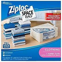 Ziploc Space Bag, 5 Count