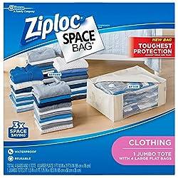 Ziploc Jumbo Tote Shell & Large Bags - 5 Ct
