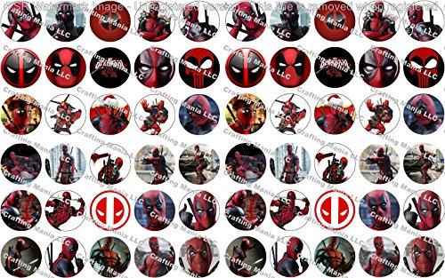 60 Precut Images Deadpool Set 1 -