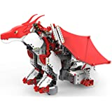 UBTECH JIMU Robot Mythical Series: Firebot Kit/ App-Enabled Building & Coding STEM Robot Kit (606 Pcs) from Robotics