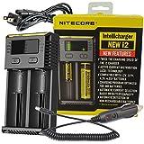Best Nitecore Vape Battery Chargers - New 2014 version NITECORE i2 Intellicharger smart battery Review