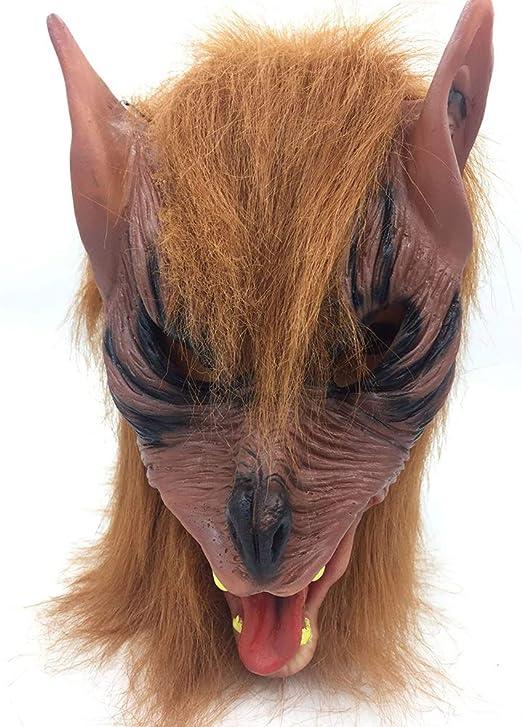 JINPAI Disfraz De Mascarada De Halloween Modelado De Animales LeóN ...
