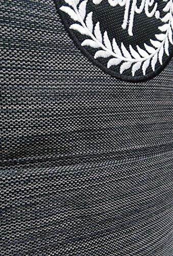 Hype h-lines Grau Rucksack Rucksack Beutel - ideal Schultaschen - Rucksack für Jungen und Mädchen