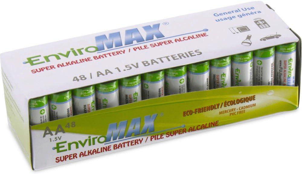 24 Pk Enviromax AA Digital Alkaline Batteries
