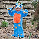 Blue Monster Costume 3 - 5 Years
