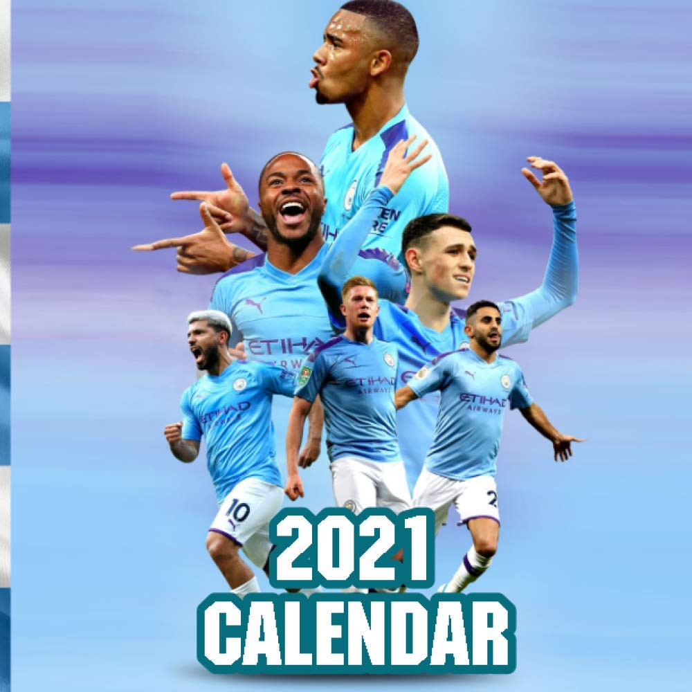 Amazon.com: Calendar 2021: Manchester City - 2021 Wall Calendar -  8.5