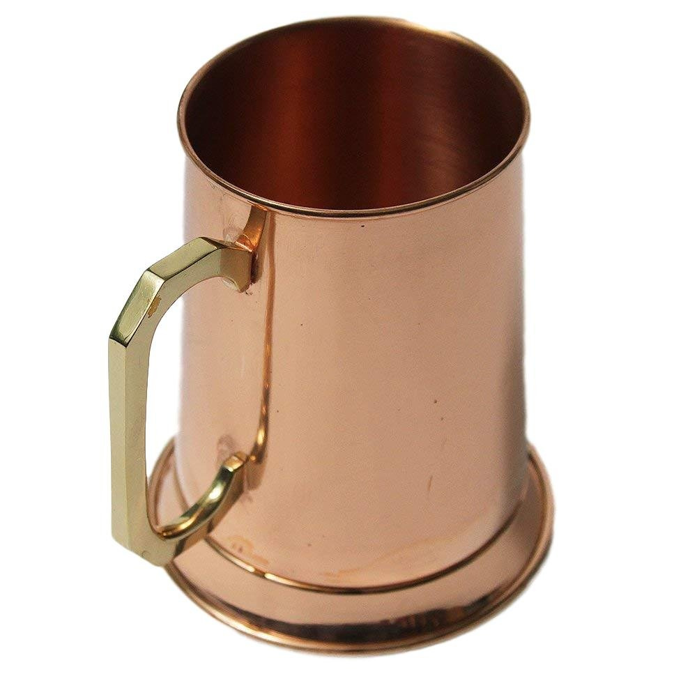 Authentic Smooth Finish 20 ounce Copper Beer Stein by Alchemade