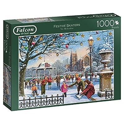 Jumbo Spiele 11185 Puzzle Da 1000 Pezzi Falcon Festive