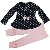 Amazon Com Young Hearts Little Girls 3 Piece Shirt Skirt