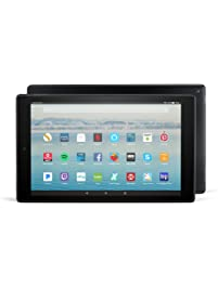 "Certified Refurbished Fire HD 10 Tablet with Alexa Hands-Free, 10.1"" 1080p Full HD Display, 32 GB, Black - with Special..."