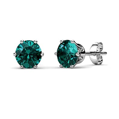 e0a0972f7 Buy Yellow Chimes Crystal from Swarovski Stud Earrings in Macaroon Box for  Women and Girls (Emerald) Online at Low Prices in India | Amazon Jewellery  Store ...