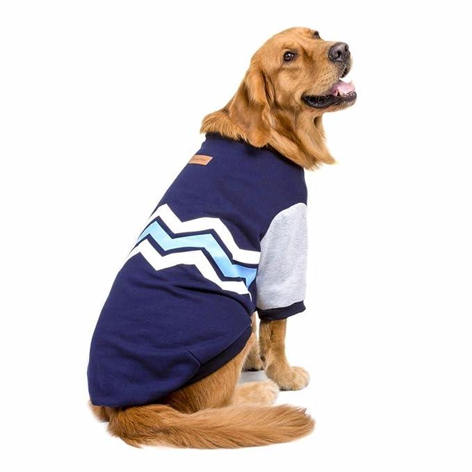 RETUROM Ropa para Mascotas, Suéter con Capucha de Warm Thick Wave Grueso de la Camisa Ropa para el Perro Grande Grande: Amazon.es: Ropa y accesorios