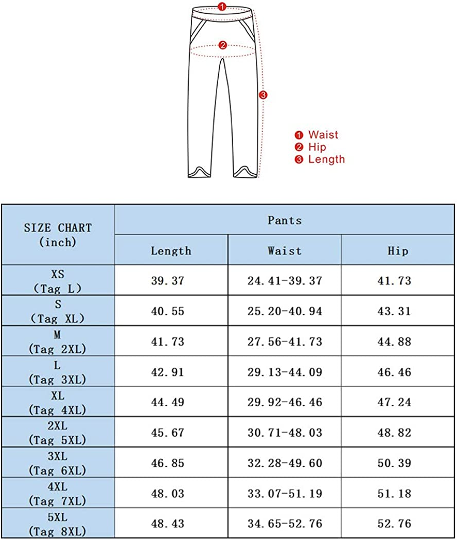 Snowman Lee Mens Big and Tall Fleece Lined Sweatpants Casual Travel Fitted Winter Jogger Pants