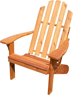 product image for Cedar Kennebunkport Adirondack Chair, Natural Stain