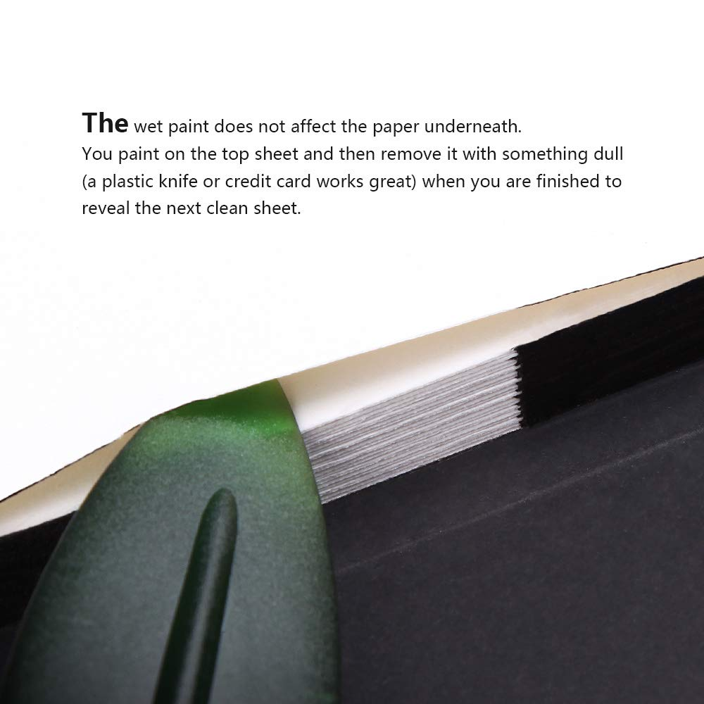 Premium Leather Cover Artist Quality Hot Pressed Paper for Watercolors and Wet Media Block 64k Black Paul Rubens Watercolor Journal Acid Free /& 100/% Cotton