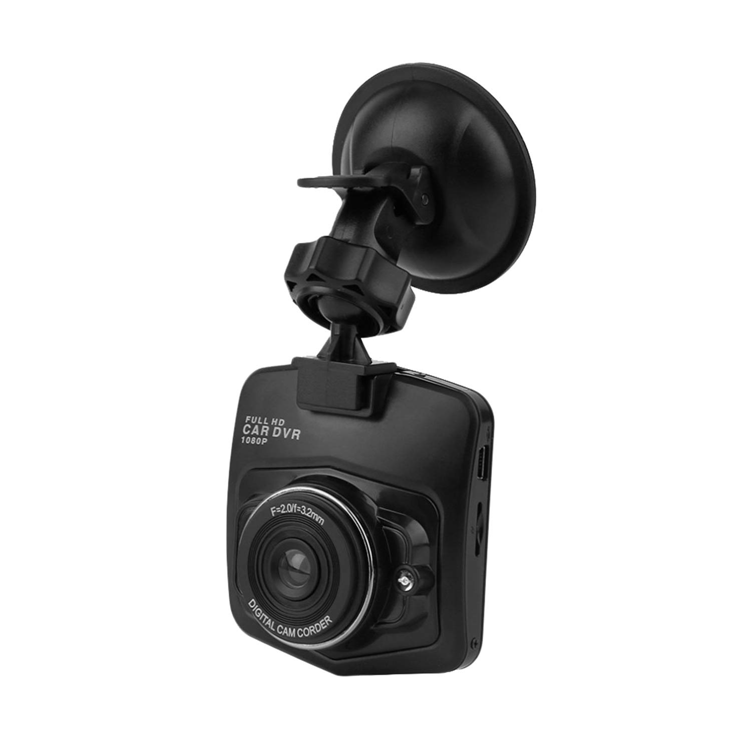 M001 2.4 inch LCD Dash Cam HD 1280 x 720 / 1080p Car DVR 120 Degree Wide Angle with Night Vision/G-Sensor/Motion / WDR WAZA